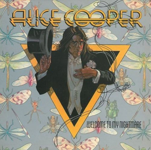 ALICE COOPER Welcome To My Nightmare Vinyl Record LP Anchor 1975